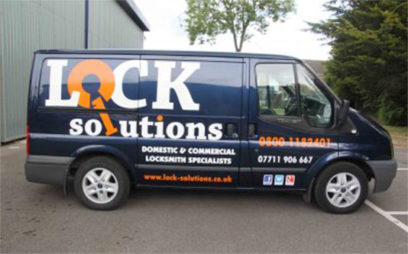 Lock Solutions Van